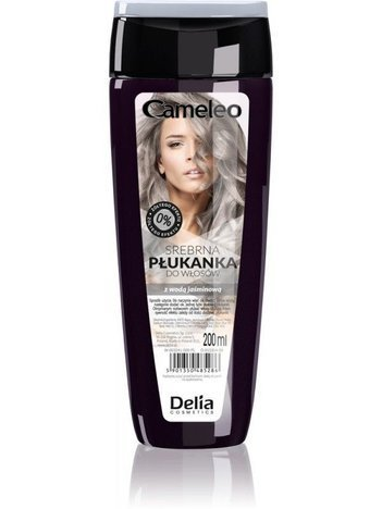 DELIA*CAMELEO Płukanka do wł srebrna 200ml  New""
